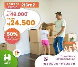 Es tu momento de adquirir tu vivienda propia!!