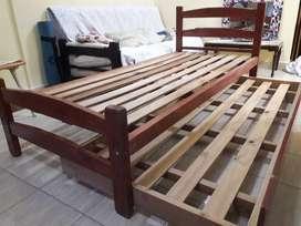 Cama Marinera de madera 1 Plaza