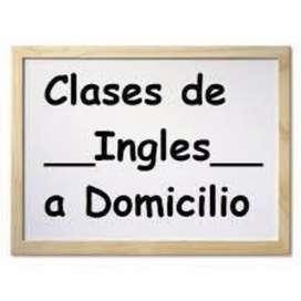 Clases de Inglés a Domicilio en Bogotá.