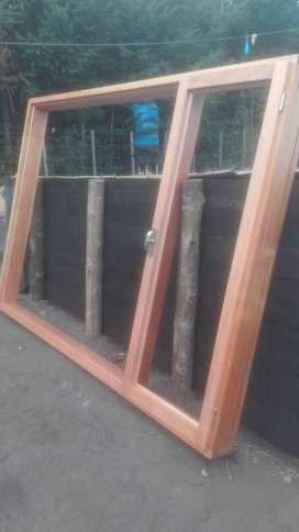 aberturas en madera de Lenga