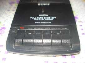 Grabador Sony Portatil Tcm 929 Impecable Funcionando Todo!!