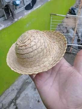 Sombrero Pequeño Mimbre