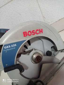 Radial Bosch para disco de 9 pulgadas de 2200W original en perfecto estado