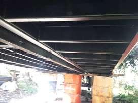 Vendo planoncha auxilio cvc 8 metros de largo por 2,6 ancho. Lista para instalar