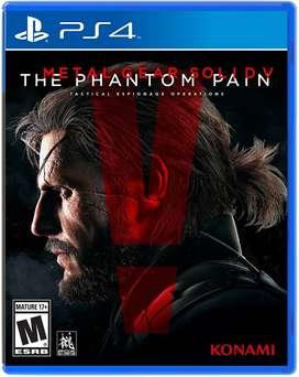 Metal Gear Solid 5 Phamtom Pain Playstation 4 Ps4, Físico