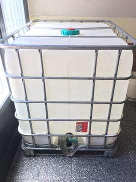 Cisternas de 1.000 litros