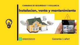 Instalación Y mantenimiento de Cámaras de vigilancia y seguridad