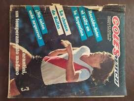 revista goles match , poster de platense del 81