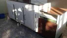 Vendo o permuto heladera mostrador