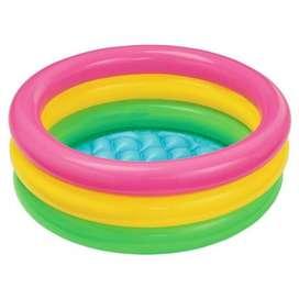 Piscina inflable de intex con 86 cm x 25 cm pequeña para agua o pelotas