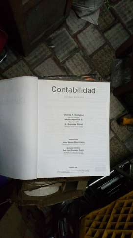 CONTABILIDAD. PEARSON. OCTAVA EDICION. EXCELENTE ESTADO