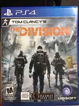 Vendo - cambio The division Ps4