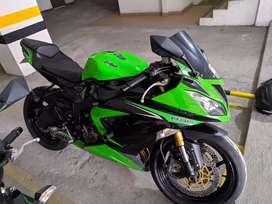 Kawasaki ninja ZX6R 636 2014