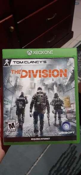Vendo juego de xbox one TOM CLANCY'S THE DIVISION