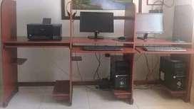 CUBICULOS PARA SALA DE INTERNET (SIN ACCESORIOS)