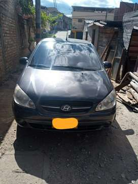Vendo carro Hyundai getz modelo 2011