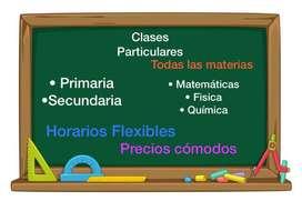 Se dicta clases de Matemáticas y Física