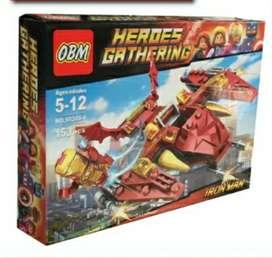 Lego Heroes Gathering,153 piezas