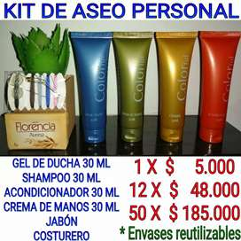 Kit aseo personal