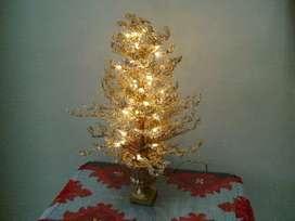 Lampara decoracion base decorativa arbolito original con luz pidelo cucuta envio a toda colombia