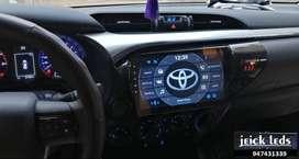 """Nueva Radio Toyota Hilux 2016 - 2017 - 2018 - 2019 Android 10"""""""