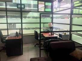 Alquiler oficina amoblada en Ceibos