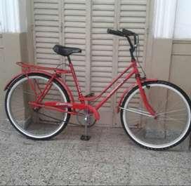 bicicleta de paseo rod 26 lista para andar