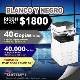 Copiadora Impresora Ricoh Mp4054 B/n Oferta
