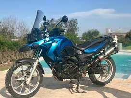 Bmw F 650 Gs Bicilindrica 800cc