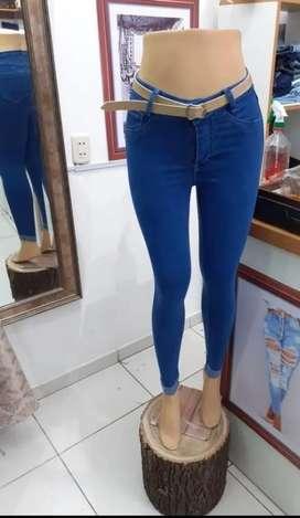 Jeans Strech Bota Doblada