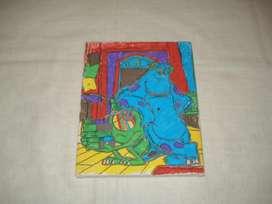 cuadrito Monster Inc (artesanal)