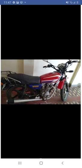 Vendo moto lineal marca zongzhen
