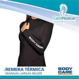 Remera Manga Larga Mujer Body Care Termica - Ortopedia Care Medical