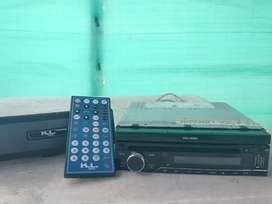 Radio KL SQ400 de pantalla motorizada