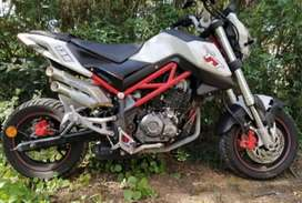 Moto Benelli Tnt 135 Nake, No Bajaj, Honda, Yamaha. Mejorada