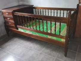 Hermosa cama cuna