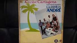 Lp,disco,acetato,vinilo La Familia Andre