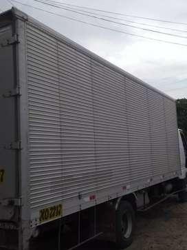Vendo furgón de aluminio de fuso original