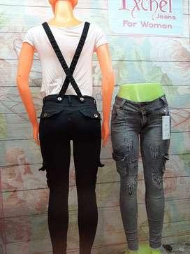 Jeans camuflado de mujer