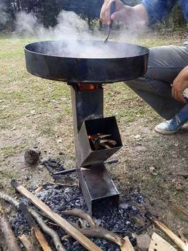 HORNALLA – COCINA a LEÑA Oferta Verano!! Ideal p/Camping