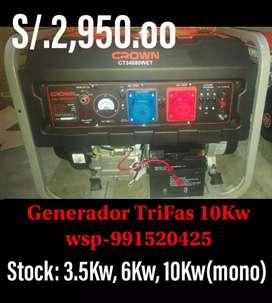 Generador 10000Kw CROWN