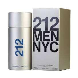 Perfume Para Hombre Carolina Herrera 212 Men Original Spray