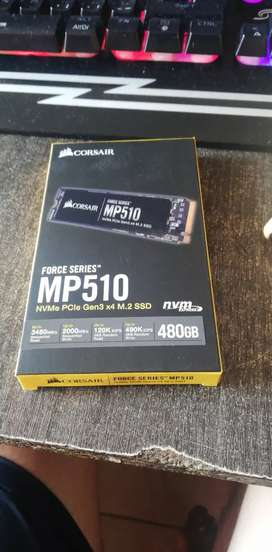 Corsair mp 510 480 gigas m.2 nvme ultra rapido