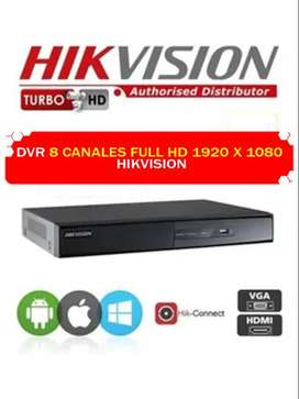 DVR 8 CANALES HIKVISION