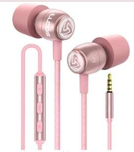 Auriculares Con Cable Ludos Clamor Auriculares Con Microfono