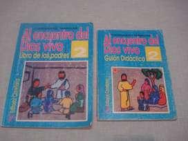 libros de catequesis Familiar x2