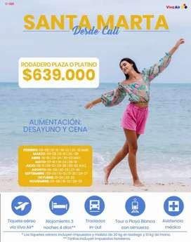 Santa Marta Temporada Baja