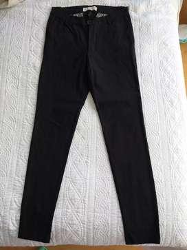Pantalón chupin elastizado hombre