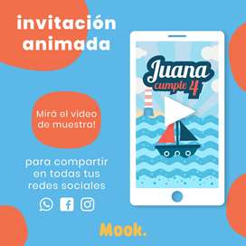 Marinero Invitación Animada en Video