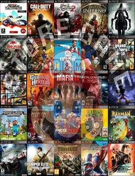 JUEGOS ORIGINALES PS3 PLAY 3 PLAYSTATION 3 DISCO DURO 160 GB